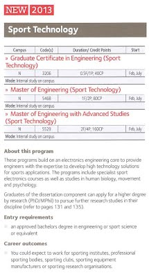 sports technology masters degree